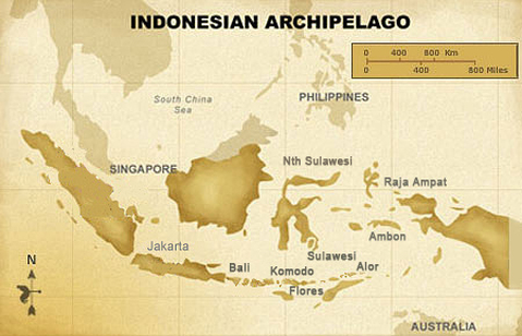 Alor and Komodo Live Aboard map