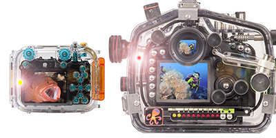 Underwater Camera Housing Leak Detector