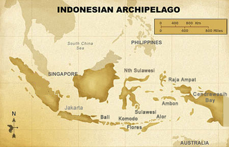 Dive Sites of Indonesia
