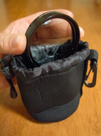 Lens Pouch - For storing various lenses bith underwater & above water