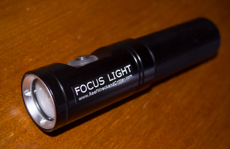 Underwater Photography Focus and Video Light