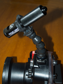 Focus Light Mount - Underwater Camera Housing